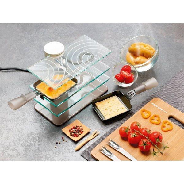 appareil à raclette transparent 2 personnes lagrange - raclettes
