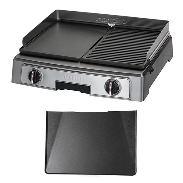 set plancha barbecue power xl plaque plancha cuisinart. Black Bedroom Furniture Sets. Home Design Ideas
