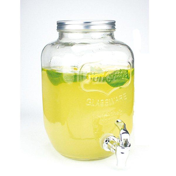 fontaine boisson drinking jar avec robinet 4 l carafes. Black Bedroom Furniture Sets. Home Design Ideas