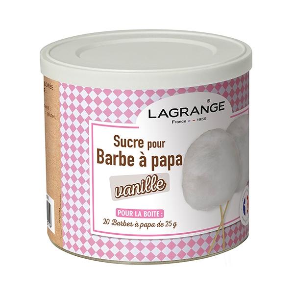 sucre barbe papa ar me vanille 500 g 380006 lagrange colorants ar mes et ingr dients. Black Bedroom Furniture Sets. Home Design Ideas