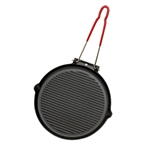 Grill rond manche amovible 25,5 cm