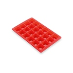 Moule 24 mini-brownies silicone
