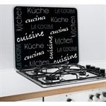 protection plaques de cuisson cr dence am nagement. Black Bedroom Furniture Sets. Home Design Ideas