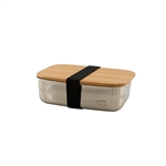 Lunch box inox et bambou 650ml
