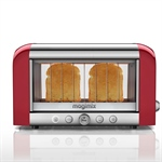 Toaster vision panoramique Rouge 11540