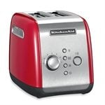 Grille-pain 2 tranches rouge kitchenaid