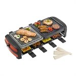 Grill-Raclette 8 personnes 1200 W ARC800