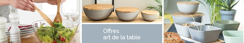 Bons plans art de la table