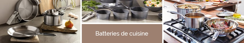 Batteries de cuisine