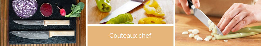Couteaux chef