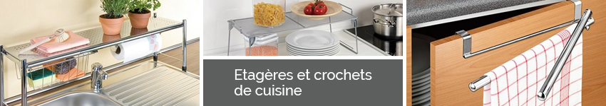 Etagères Et Crochets De Cuisine Organisation De La Cuisine Mathonfr