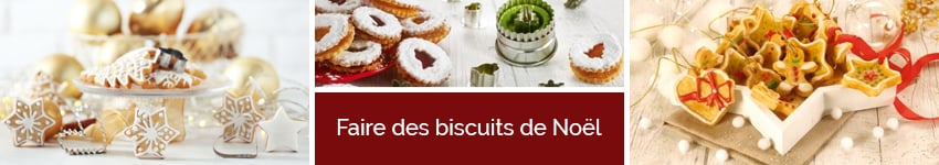 Faire des biscuits de noël