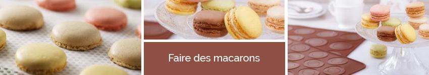 Faire des macarons - Fait-maison - Mathon.fr