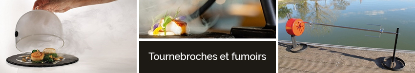 Tournebroches et fumoirs