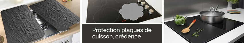 Protection plaques de cuisson cr dence organisation de for Protection credence