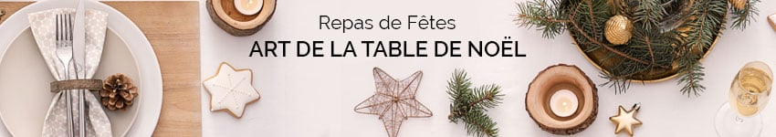 Art de la table de Noël