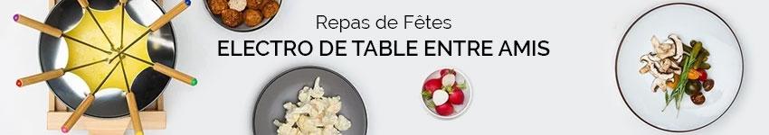Electro de table entre amis repas de f tes - Repas plancha entre amis ...