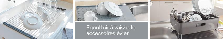 Egouttoir vaisselle accessoires vier organisation de for Nouveaute accessoire cuisine