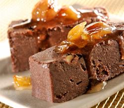 Douceurs de chocolat aux marrons
